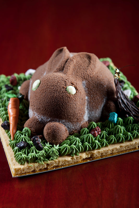 Black Forrest Rabbit Cake