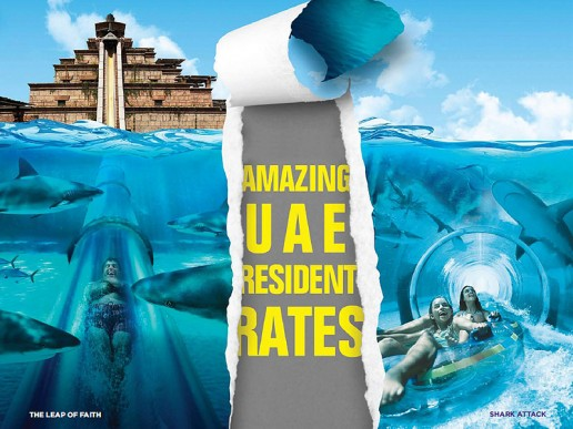 UAE Residents Rate at Aquaventure, Atlantis The Palm, Dubai