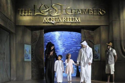 Arabian Family Nights at The Lost Chambers Aquarium