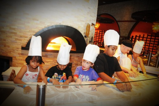 Pizza making with Atlantis Kids Club and Time Out Kids