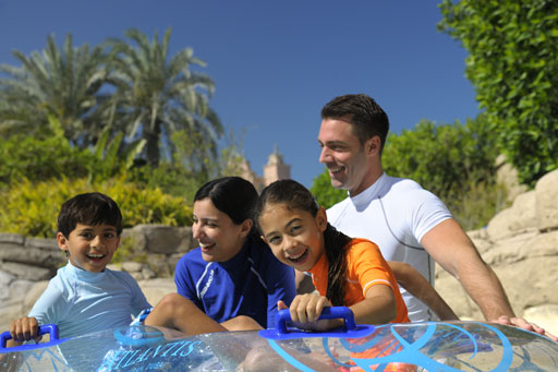 Family at Aquaventure