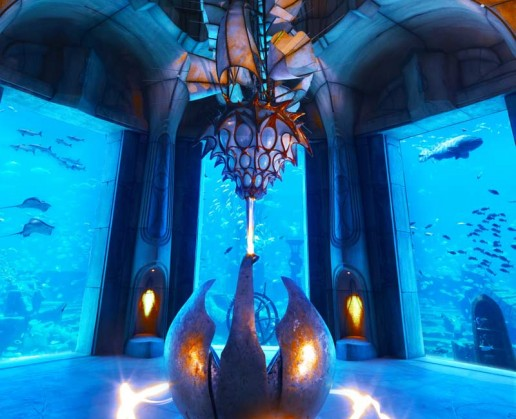 The Lost Chambers Of Atlantis Aquarium Is Located Inside Pictures
