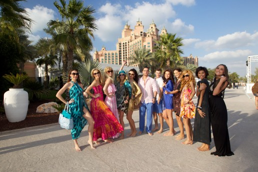 Models-at-the-launch-of-Nasimi-Beach-Boutique-Atlantis-The-Palm