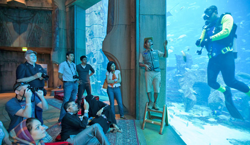 Family Fun Day at The Lost Chambers, Atlantis The Palm, Dubai