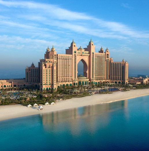 Atlantis aerial image