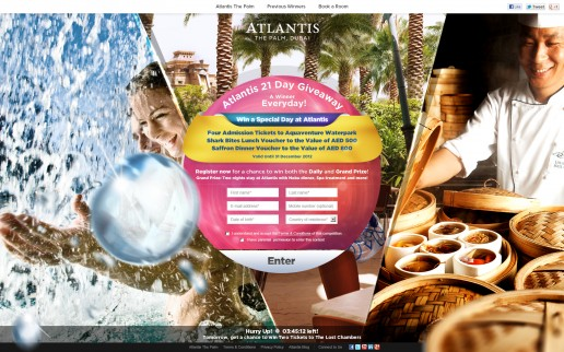 Day 14 - Win 4 Tickets to Aquaventure Waterpark, AED 500 Shark Bites Voucher and AED 800 Saffron Voucher