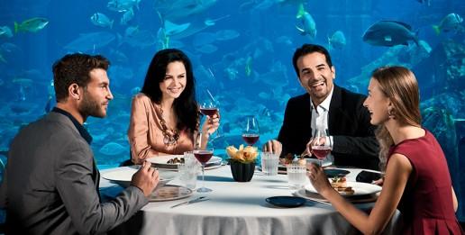 Atlantis Ossiano fine dining