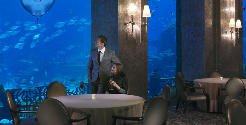 Ossiano wins best Seafood restaurant in Dubai