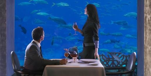 Underwater Restaurant Atlantis Atlantis, The Palm awa...
