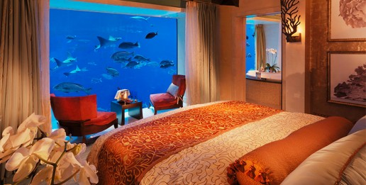 Atlantis awarded best hotel suite for underwater suite