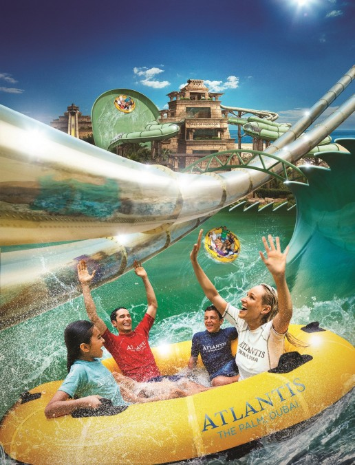 Atlantis, The Palm expands Aquaventure Waterpark with new adrenaline pumping rides and slides putting daredevils across the globe to the test.