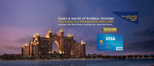 Visa Family Fun Package at Atlantis, The Palm