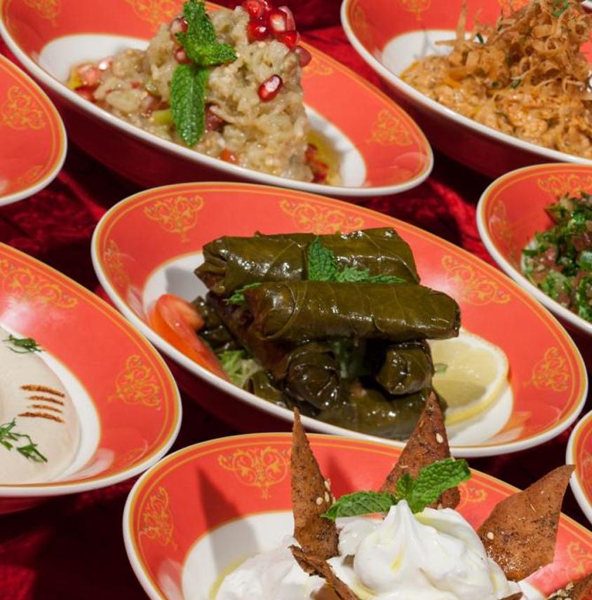 Atlantis - Eid at Levantine restaurant