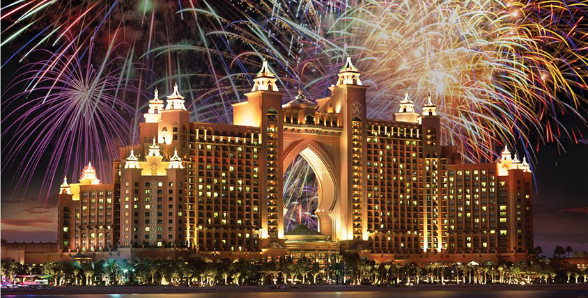 Atlantis New Years Eve 2014