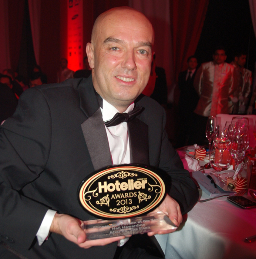 Atlantis wins at Hotelier Middle East Awards