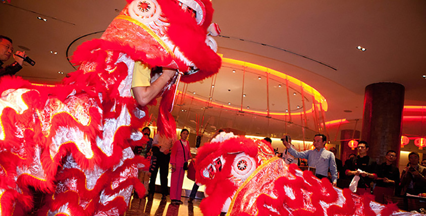 Chinese New Year at Saffron