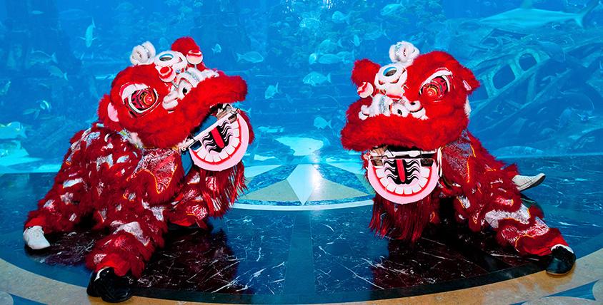 Atlantis celebrates Chinese New Year