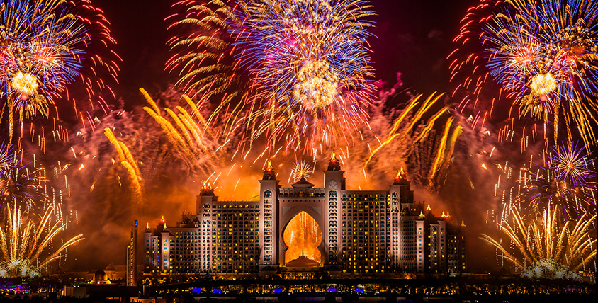 Atlantis New Years Eve celebrations