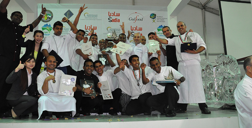 Atlantis the Palm's culinary team wins big