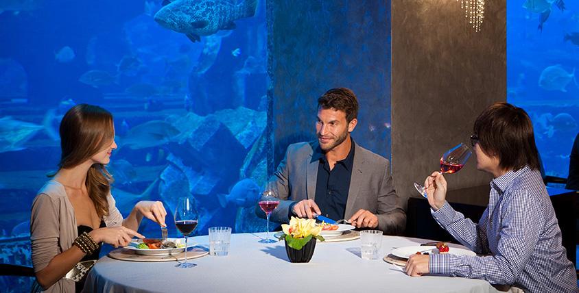 Atlantis Ossiano award for best seafood restaurant