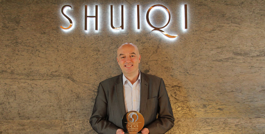 Atlantis ShuiQi Spa announced best Spa in Africa and the Middle East