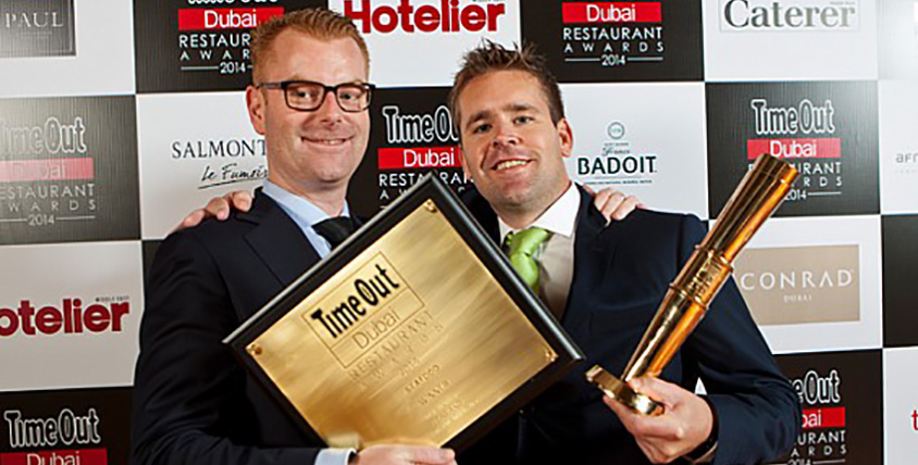 Ossiano Wins Best Seafood Restaurant at Time Out Dubai