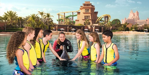 Atlantis dolphin bay kids experience - Eduventure