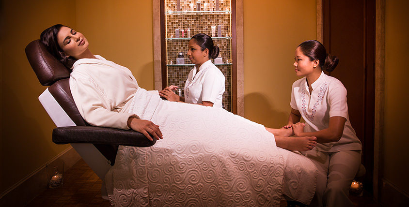 Bastien Gonzalez Treatment at Shuiqi Spa
