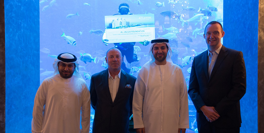 Atlantis donation to Al Jalila foundation