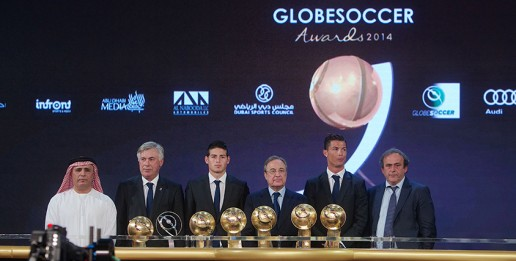 Globe Soccer Awards 2014