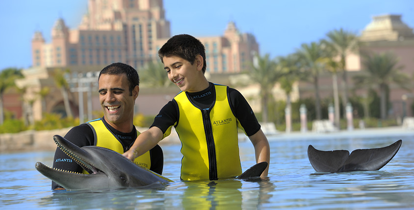 Dolphin Bay Atlantis the Palm