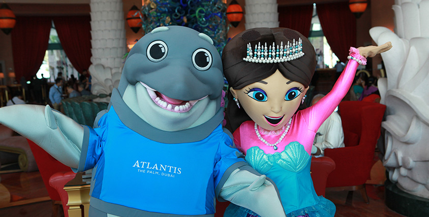 Atlantis the Palm - Finn and the Princess of Atlantis