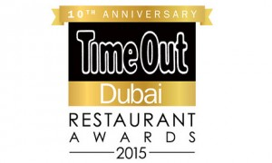 Time Out Dubai Restaurant Awards 2015