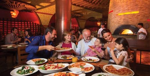 Ronda S Italian Family Style Table
