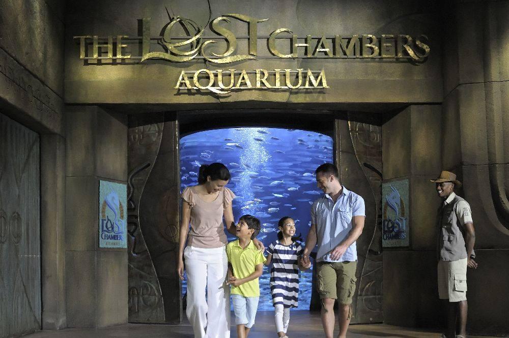 The Lost Chambers Aquarium - Atlantis