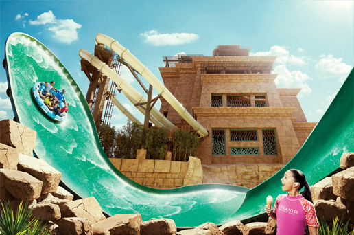 Aquaventure Voted The Best Waterpark In The Middle East In