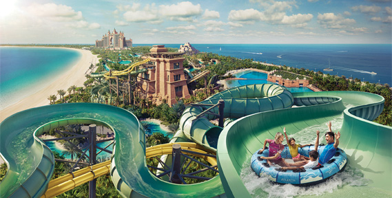 Aquaventure voted the best Waterpark in the Middle East in the Trip Advisor Travellers' Choice Awards