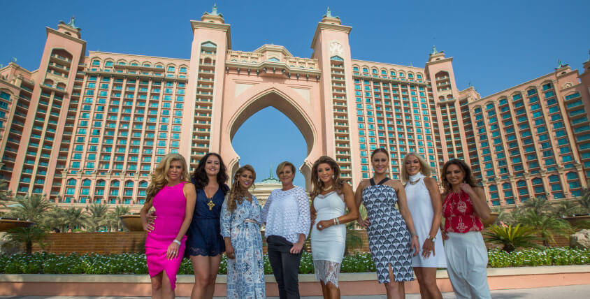 The Real Housewives of Melbourne Visit Atlantis The Palm