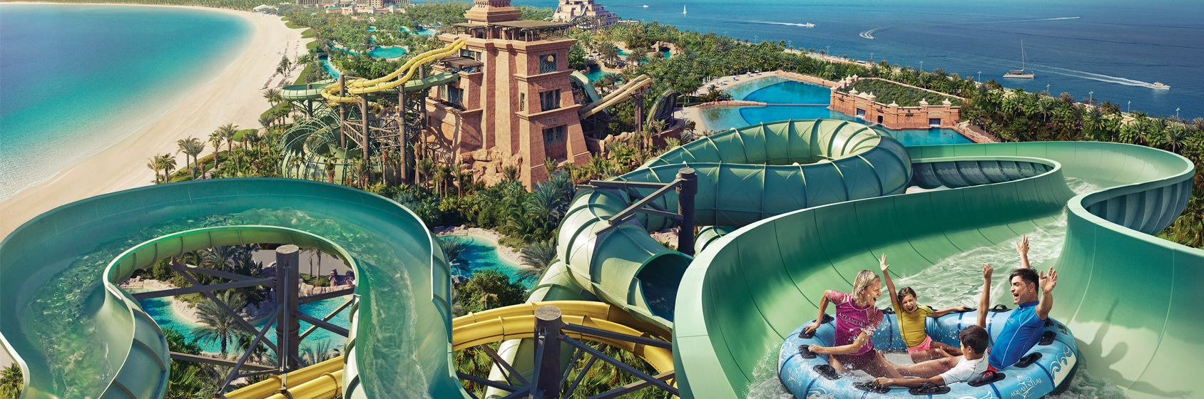 Three World Class Skaters Take Over Aquaventure Waterpark