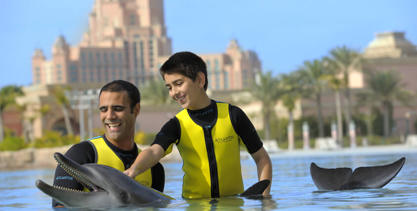 Marine and Waterpark at Atlantis, The Palm – You're Different in Water