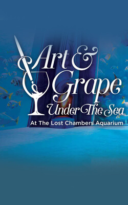 Art & Grape Under the Sea