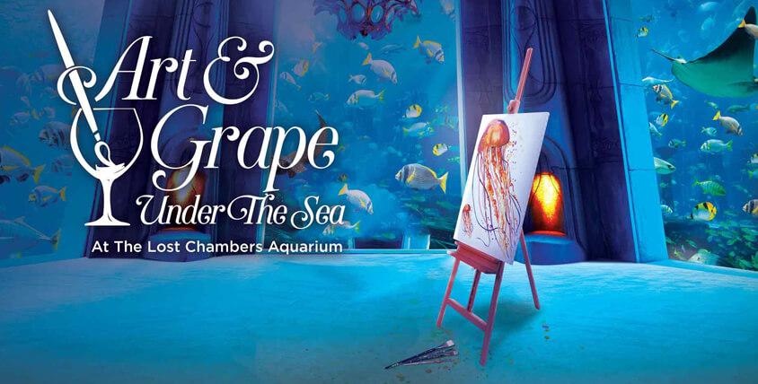 Art & Grape Under the Sea