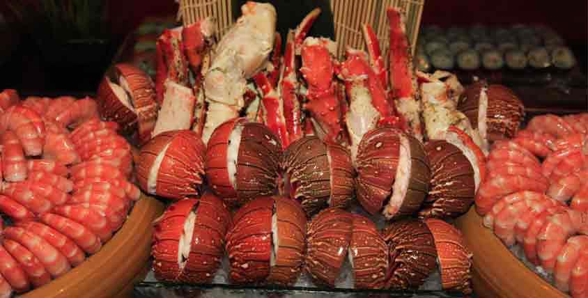 Saffron seafood