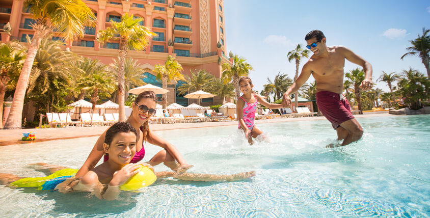 Soak Up the Sun on Atlantis, The Palm's Blissful Beaches