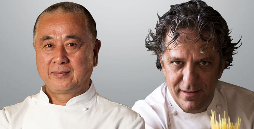 Exclusive Four Hands Dinner with Michelin-Starred Chef Nobu Matsuhisa and Chef Giorgio Locatelli at Atlantis, The Palm