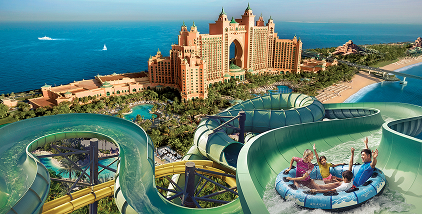 AquaVenture Water Park   Your Guide to Atlantis The Palm   The Vacation Builder