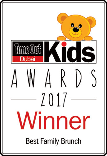 AWARDS 2017 - WINNER BEST FAMILY BRUNCH