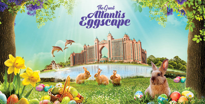 Eggsperience a Unique Easter Celebration with Family at Atlantis, The Palm