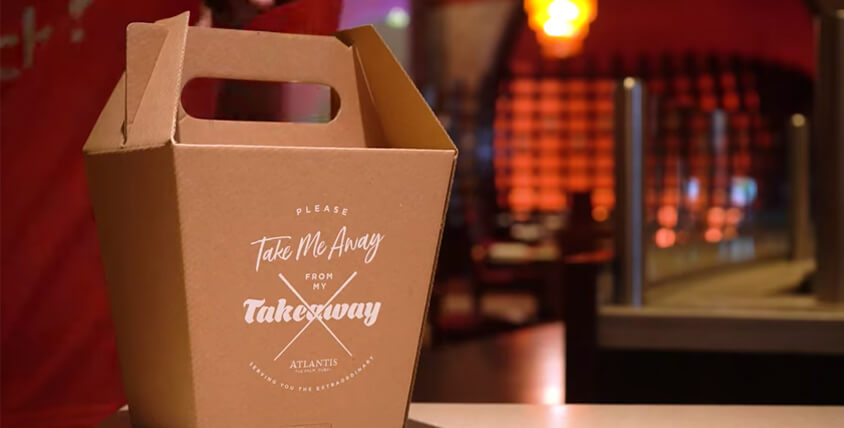 Serving You the Extraordinary with a Special Atlantis Takeaway Box