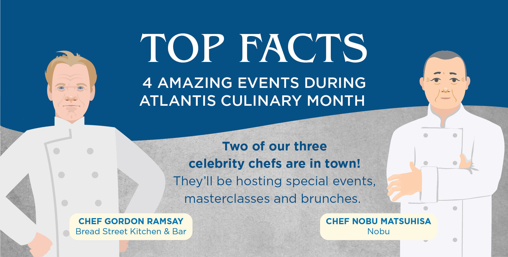 4 Amazing Events to Look Forward to During Atlantis Culinary Month